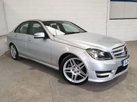 USED 2014 14 MERCEDES-BENZ C CLASS 2.1 C220 CDI BLUEEFFICIENCY AMG SPORT 4d AUTO 168 BHP