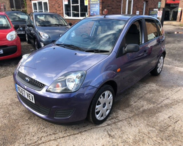 2007 07 FORD FIESTA 1.4 STYLE CLIMATE 16V 5d 78 BHP