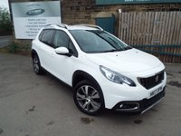 USED 2017 17 PEUGEOT 2008 1.6 BLUE HDI ALLURE 5d 100 BHP One Owner FULL Service History