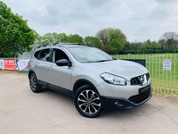 USED 2013 13 NISSAN QASHQAI+2 1.6 DCI 360 IS PLUS 2 5d 130 BHP Pan Roof, Nav, 360 Cam, FSH! 1 Former Keeper! Bluetooth Connect!