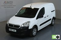 USED 2017 67 PEUGEOT PARTNER 1.6 BLUE HDI PROFESSIONAL SWB 100 BHP EURO 6 AIR CON MANUFACTURER WARRANTY UNTIL 06/09/2020