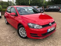 2015 VOLKSWAGEN GOLF 1.2 S TSI BLUEMOTION TECHNOLOGY 5d 85 BHP £9500.00