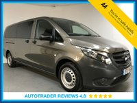 USED 2017 17 MERCEDES-BENZ VITO 2.1 114 BLUETEC TOURER PRO 5d 136 BHP FULL HISTORY - 1 OWNER - 9 SEATS - EURO 6 - PARKING CAMERA - AIR CON - BLUETOOTH - AUX / USB