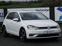 2018 VOLKSWAGEN GOLF 1.6 SE NAVIGATION TDI BLUEMOTION TECHNOLOGY 5d 114 BHP £14300.00