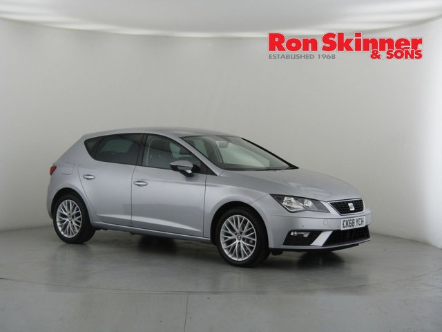 View our 2018 68 SEAT LEON 1.6 TDI SE DYNAMIC 5d 114 BHP