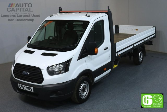 2018 67 FORD TRANSIT 2.0 350 L4 EXTRA LWB 129 BHP EURO 6 DROPSIDE LORRY ONE OWNER FROM NEW, MANUFACTURER WARRANTY UNTILL 17/01/2021