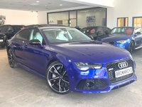 USED 2016 16 AUDI RS7 4.0 RS7  PERFORMANCE PLUS  SPORTBACK TFSI QUATTRO 5d AUTO 597 BHP 1 OWNER+£35K EXTRAS+HUGE SPEC