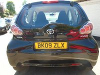 USED 2009 09 TOYOTA AYGO 1.0 BLACK VVT-I 3d 67 BHP GUARANTEED TO BEAT ANY 'WE BUY ANY CAR' VALUATION ON YOUR PART EXCHANGE