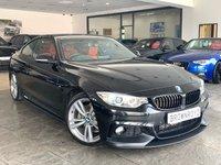 USED 2013 63 BMW 4 SERIES 3.0 430D M SPORT 2d AUTO 255 BHP M PERFORMANCE STYLING+BIG SPEC