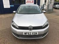 USED 2012 62 VOLKSWAGEN GOLF 1.6 TDI Match DSG 5dr OPTICAL PARKING-DAB RADIO