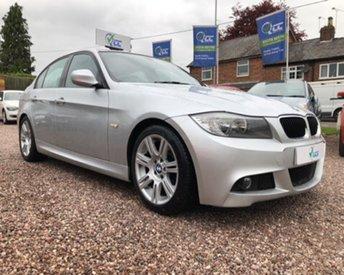 2010 BMW 3 SERIES 2.0 318D M SPORT 4d 141 BHP £9395.00