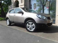 USED 2010 10 NISSAN QASHQAI 1.5 ACENTA DCI 5d 105 BHP ****FINANCE ARRANGED****PART EXCHANGE WELCOME***NISSAN SH*AUTO LIGHTS & WIPERS*BTOOTH*CRUSE*6SPEED