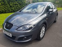 USED 2013 SEAT LEON 1.6 CR TDI SE COPA 5d 103 BHP Great Specification and a superb specification.