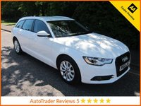 USED 2014 64 AUDI A6 2.0 AVANT TDI ULTRA SE 5d 188 BHP. ULEZ COMPLIANT*EURO 6* SAT-NAV* Fantastic Value Audi A6 Avant 2.0 TDi Ultra SE with Leather, Satellite Navigation, Climate Control, Cruise Control, Alloy Wheels and Service  History.  This Vehicle is ULEZ Compliant with a EURO 6 Rated Engine.
