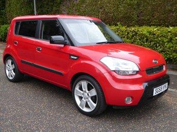 2009 KIA SOUL 1.6 SAMBA 5d 125 BHP £3995.00