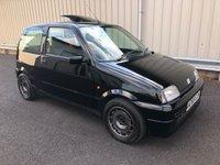 1996 FIAT CINQUECENTO 1.1 SPORTING VAN AAKEN TURBO £4995.00