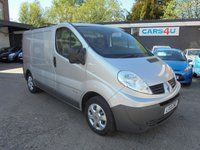 USED 2013 13 RENAULT TRAFIC 2.0 SL27 DCI S/R 5d 115 BHP