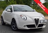 USED 2011 61 ALFA ROMEO MITO 1.4 TB MULTIAIR SPRINT 3d 105 BHP FINISHED IN IVORY WHITE! SUPPLIED WITH SERVICE AND MOT!