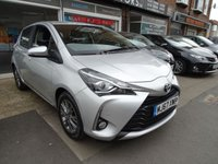 2017 TOYOTA YARIS 1.5 VVT-I ICON TECH 5d 110 BHP £8990.00