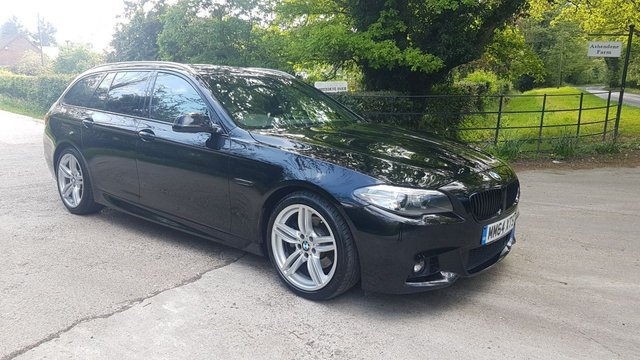 2015 64 BMW 5 SERIES 2.0 520D M SPORT TOURING 5d AUTO 188 BHP