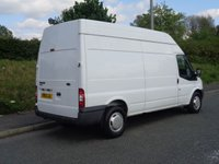 USED 2012 12 FORD TRANSIT 2.2 350 H/R 1d 99 BHP 350 LWB EX BRITISH RAIL