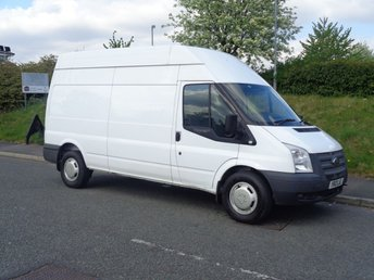 2012 FORD TRANSIT 2.2 350 H/R 1d 99 BHP 350 LWB EX BRITISH RAIL £5995.00