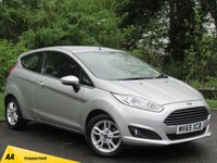 USED 2015 65 FORD FIESTA 1.2 ZETEC 3d **SUPER LOW MILEAGE**