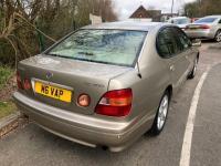USED 1999 LEXUS GS 3.0 SE Saloon 4dr Petrol Automatic (281 g/km, 218 bhp) Great Car! Jan 2020 Mot