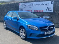 USED 2016 MERCEDES-BENZ A CLASS 1.5 A 180 D SPORT 5d AUTO 107 BHP FINANCE AVAILABLE+SATELLITE NAVIGATION+CRUISE CONTROL+REVERSING CAMERA+AUTOMATIC