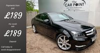 USED 2015 65 MERCEDES-BENZ C CLASS 2.1 C250 CDI AMG Sport Edition (Premium Plus) Coupe 2dr Diesel 7G-Tronic Plus (139 g/km, 168 bhp) 1 Owner Full Merc History