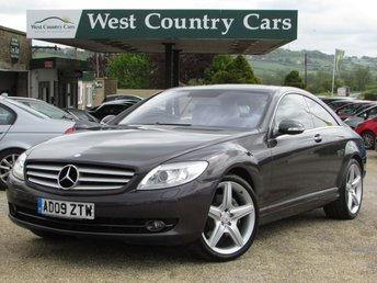 2009 MERCEDES-BENZ CL 5.5 CL 500 2d AUTO 383 BHP £15000.00