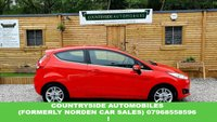 USED 2015 S FORD FIESTA 1.2 ZETEC 3d 81 BHP Here we have a lovely example of the facelift 3 door Fiesta Zetec, good specification with bluetooth, 5 spoke split spoke alloys, chromeline exterior pack, new shape big open grill with sports zetec lipped bumper, interior is in sporty black with white stitching. only £30 a year road tax with a combined MPG of 54.3. stunning modern sporty and economical all rolled into one.