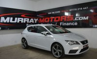 2017 SEAT LEON 1.6 TDI S 5DOOR 114 BHP NEVADA WHITE £10450.00