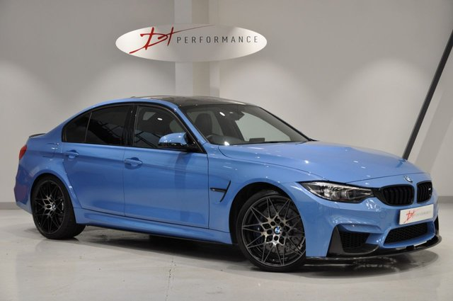 2018 18 BMW M3 3.0 M3 COMPETITION PACKAGE 4d AUTO 444 BHP