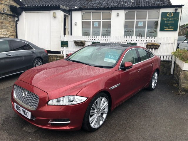 2011 61 JAGUAR XJ 3.0D LUXURY DIESEL AUTO
