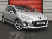 2012 PEUGEOT 308 1.6 E-HDI ALLURE 5d 112 BHP £4495.00