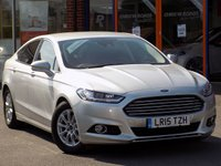 USED 2015 15 FORD MONDEO 2.0 TDCi Econetic Titanium (X Pack) 5dr ** Sat Nav + Leather **