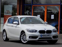 USED 2015 65 BMW 1 SERIES 1.5 116d Effiecient Dynamics Plus 5dr ** Sat Nav + Bluetooth + Cruise **
