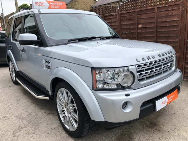 2011 11 LAND ROVER DISCOVERY  4 3.0 SDV6 DIESEL 4X4 AUTO HSE 7 SEATER