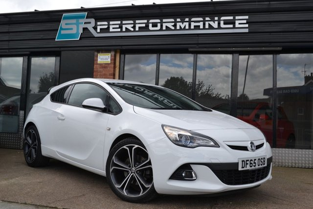2015 65 VAUXHALL ASTRA 1.4 GTC LIMITED EDITION S/S 3d 138 BHP