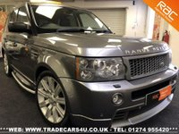 USED 2008 58 LAND ROVER RANGE ROVER SPORT 3.6 TDV8 GENUINE HST DIESEL AUTO 4X4 UK DELIVERY* RAC APPROVED* FINANCE ARRANGED* PART EX