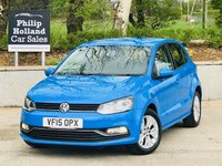 USED 2015 15 VOLKSWAGEN POLO 1.0 SE 5d 74 BHP £20 Road tax, Low Insurance, Bluetooth, DAB radio
