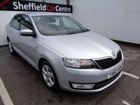 USED 2014 63 SKODA RAPID 1.2 SE TSI 5d 104 BHP £128 A MONTH WITH NO DEPOSIT 6 SERVICE STAMPS ALLOYS AIR CON