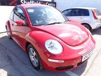 2008 VOLKSWAGEN BEETLE 1.4 LUNA 16V 3d 74 BHP £2675.00
