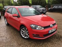 2014 VOLKSWAGEN GOLF 1.4 GT TSI ACT BLUEMOTION TECHNOLOGY DSG 5d AUTO 148 BHP £11000.00