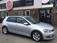 USED 2016 16 VOLKSWAGEN GOLF 1.6 TDI BlueMotion Tech Match Edition DSG (s/s) 5dr SATNAV~CRUISE CON~PARK SENSORS