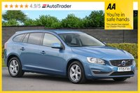 USED 2015 15 VOLVO V60 2.0 D4 BUSINESS EDITION 5d 180 NAV FVSH ONE OWNER From NEW
