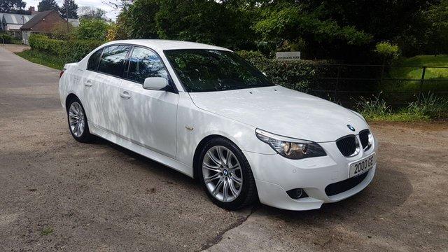 2008 BMW 5 SERIES 3.0 525I M SPORT 4d AUTO 215 BHP