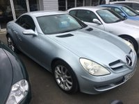 2004 MERCEDES-BENZ SLK 1.8 SLK200 KOMPRESSOR 2d 161 BHP RARE MANUAL £4795.00