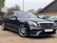 2019 MERCEDES-BENZ S CLASS S500L AMG LINE 9G TRONIC 4DR SALOON £66900.00